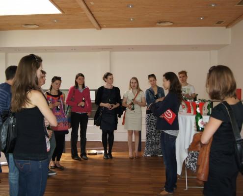 Alumni Business Tour zur Villacher Brauerei: Bettina Rabitsch spricht über Karrieremöglichkeiten | Foto: aau/KK