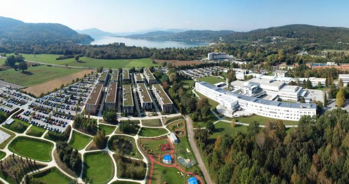 Luftbild: Universität Klagenfurt & Lakeside Park
