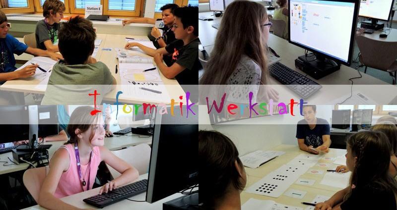 Informatikwerkstatt des Instituts für Informatikdidaktik | Foto: aau/KK