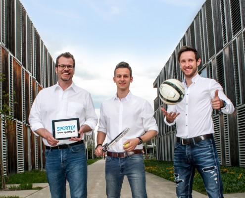 Christian Koncilia, Ernst Molden und Christofer Huber | Foto: sportly