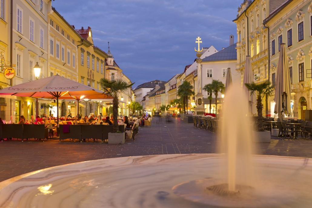 Klagenfurt am Wörther See Kärnten Werbung
