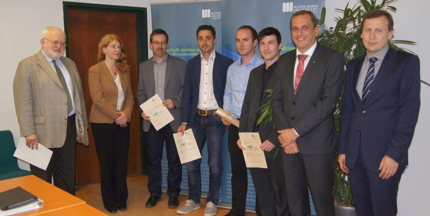 """Verleihung der """"WIWI awards for Excellence in Publishing"""" 