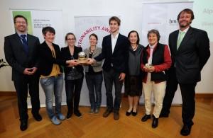 Sustainability Award 2014