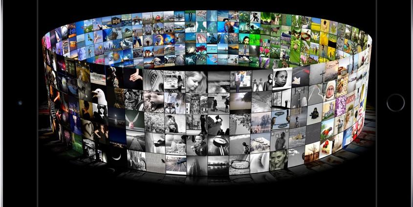 3-D-Darstellung von Bildern mit Farbsortierung | Foto: Mirflickr Dataset