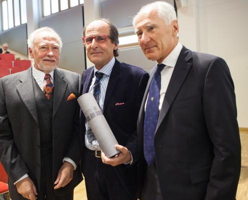 Peter Gstettner, Manfred Bockelmann und Willibald Dörfler | Foto: aau/Maurer