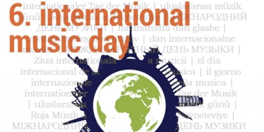 international music day - Plakat