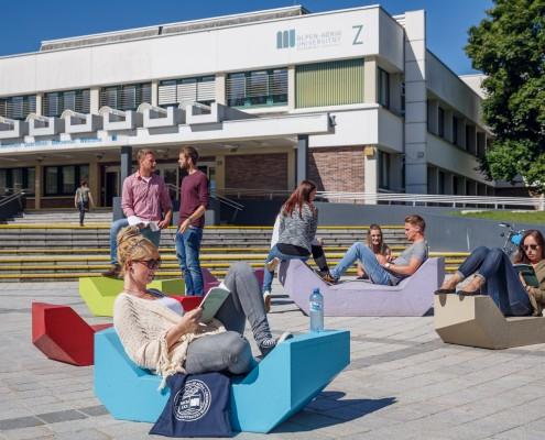 Haupteingang der AAU | Foto: aau/tinefoto.com