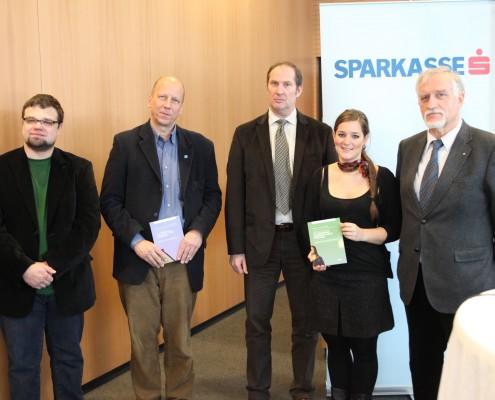 Anton Fercher, Martin Hitz, Horst Gross, Svenja Gladisch und Dietrich Kropfberger| Foto: aau/Hoi