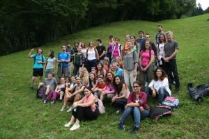 Exkursion der TeilnehmerInnen nach Dordolla ins Aupatal | Foto: aau/Wakounig