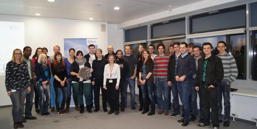 Alumni Business Tour zu Infineon Austria AG   Foto: aau/KK