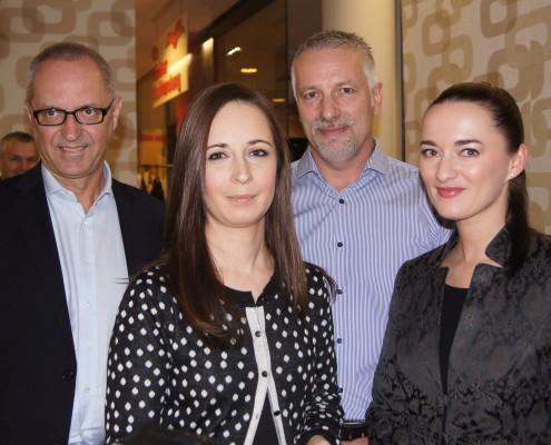 Karrierewege in der Medienbranche: Norbert Sternad, Esther Farys, Rainer Dionisio, Silvia Agha-Schantl