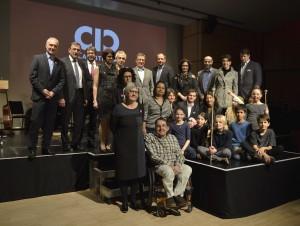 Die Mitgliederunternehmen und die CIC-summerkids bei der Fünfjahresfeier | Foto: CIC/Kampfer