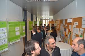 Posterausstellung zu den Smart Labs   Foto: aau/Marinelli