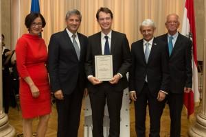 Leopold Kunschak-Wissenschaftspreis 2014 (Foto: Philip Grausam)