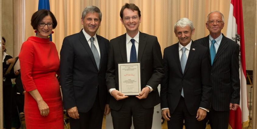 Leopold Kunschak-Wissenschaftspreis 2014 | Foto: Philip Grausam