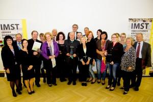 Die Gewinnerinnen und Gewinner der IMST-Awards 2014 (Foto: IMST)