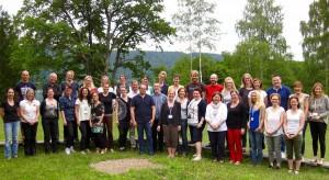 """Die TeilnehmerInnen des 14. Workshops """"Qualitative Inhaltsanalyse"""""""