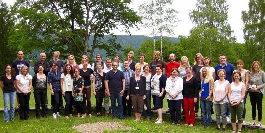 "Die TeilnehmerInnen des 14. Workshops ""Qualitative Inhaltsanalyse"" | Foto: aau/KK"