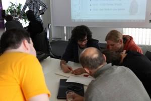 In 48 Stunden entwickelten die TeilnehmerInnen fünf Spiele | Foto: Hübner