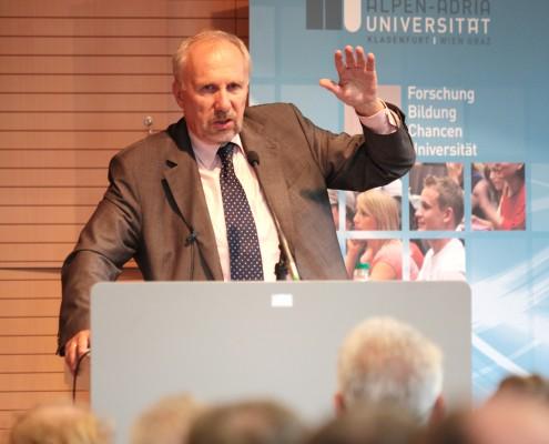 Ewald Nowotny, Gouverneur der Österreichischen Nationalbank | Foto: aau/Hoi