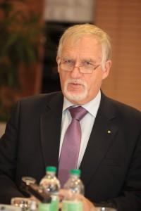 O. Univ.-Prof. i. R. Dr. Dietrich Kropfberger, Privatstiftung Kärntner Sparkasse | Foto: aau/Hoi