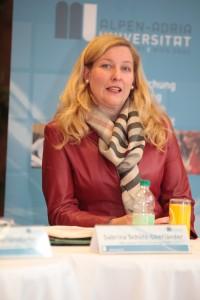 Mag.a Sabrina Schütz-Oberländer, KWF | Kärntner Wirtschaftsförderungs Fonds | Foto: aau/Hoi