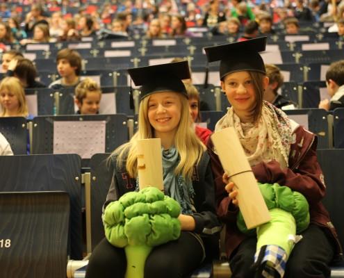Absolventinnen der UNI für Kinder 2012 | Foto: aau/Hoi