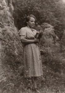 Katarina Kožlak (23.11.1920-05.02.1945) aus Ebriach/Obirsko wurde gegen Kriegsende von Polizeieinheiten vor ihrer Haustüre erschossen | Foto: SZI/SWI