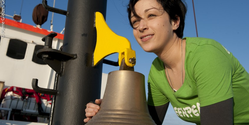 Melanie Aldrian | Foto: Pierre Gleizes/Greenpeace