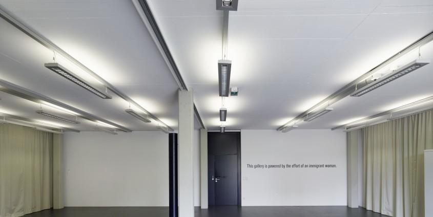 "Kunstraum Lakeside, Lakeside Park Ausstellung: Iona Paun (RO), ""Natalia turn the Light on"" | Foto: aau/Puch"