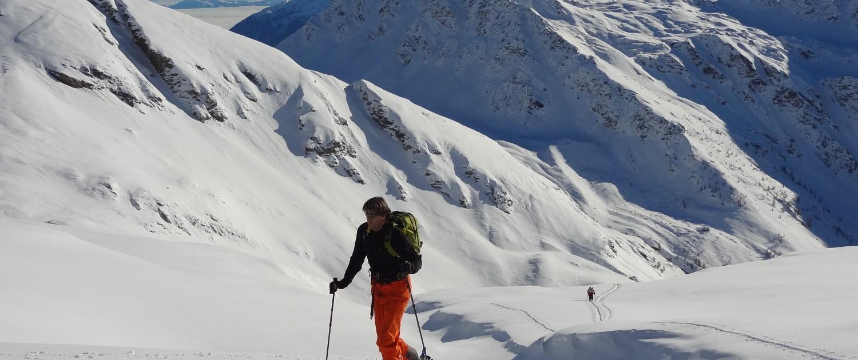 Alpen-Adria-Universität Universitätssportinstitut Skitour Franz Preiml |Foto: aau/usi
