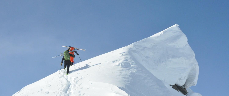 Alpen-Adria-Universität Universitätssportinstitut Skitour Grat |Foto: aau/usi