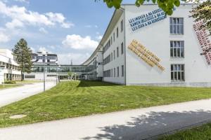 Universität Klagenfurt: Ansicht von Westen