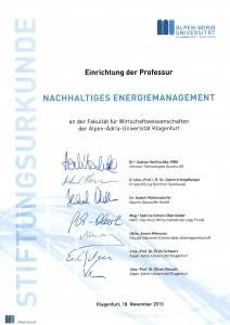 Stiftungsurkunde | Foto: Hoi