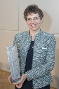 Verena Winiwarter – Wissenschaftlerin des Jahres 2013   Foto: Klub der Bildungs- und Wissenschaftsjournalisten/Roland Ferrigato