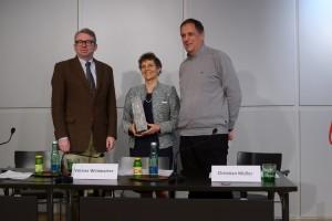 Oliver Lehmann, Verena Winiwarter und Christian Müller   Foto: Pollack
