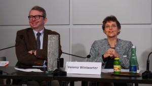 Oliver Lehmann und Verena Winiwarter   Foto: Pollack