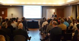 Rund 100 TeilnehmerInnen besuchten den Vortrag in der österreichischen Botschaft   Foto: Office of Science and Technology Austria (OSTA)