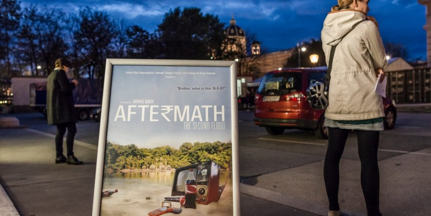 Aftermath-Weltpremiere im Weltmuseum | Foto: Aftermath