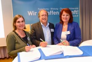 Heike Egner, Rolf Holub und Andrea Wulz | Foto: aau/KK