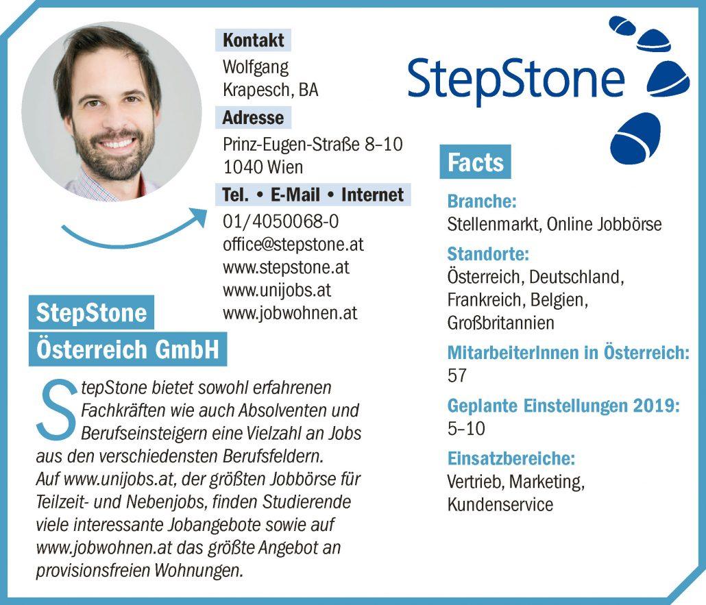 Unternehmensprofil connect18 Stepstone