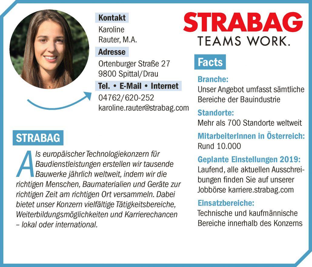 Unternehmensprofil connect18 Strabag