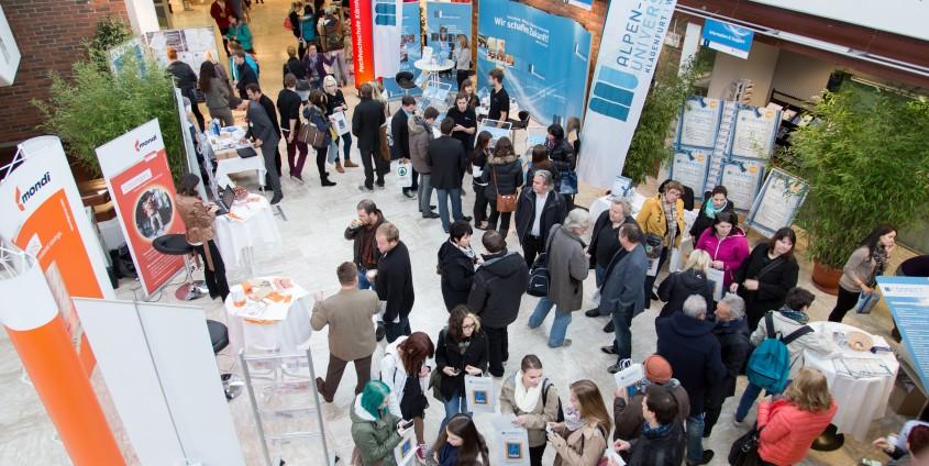 connect 2014: Der Schlüssel für die berufliche Zukunft | Foto: aau/Waschnig