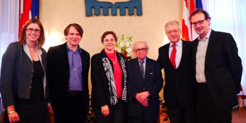 Gudrun Kramer, Wilfried Graf, Verena Winiwarter, Herbert Kelman, Wolfgang Petritsch und Werner Wintersteiner | Foto: aau/KK