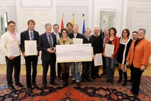 Preisverleihung Ideenwettbewerb (Foto: LPD|fritz-press)