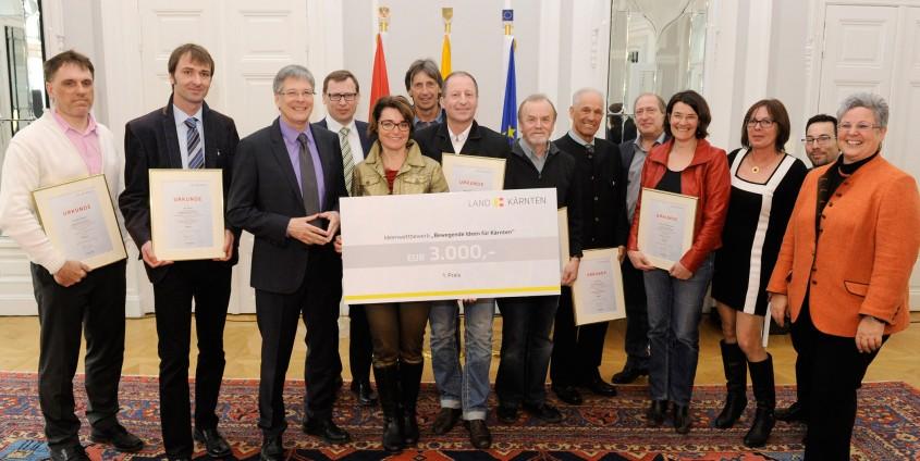 Preisverleihung Ideenwettbewerb | Foto: LPD/fritz-press