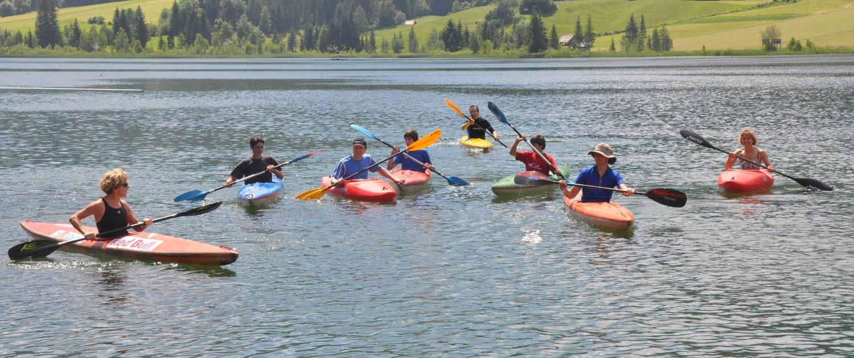 Alpen-Adria-Universität Universitätssportinstitut Kajakkurs |Foto: aau/usi