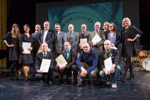 Förderungspreis des Landes Kärnten für Caroline Roth-Ebner (zweite von links), Foto: KLZ/Weichselbraun)