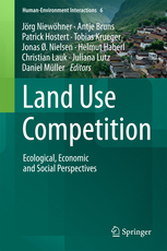 land use competition | Buchcover