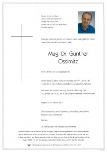 Parte Günther Ossimitz
